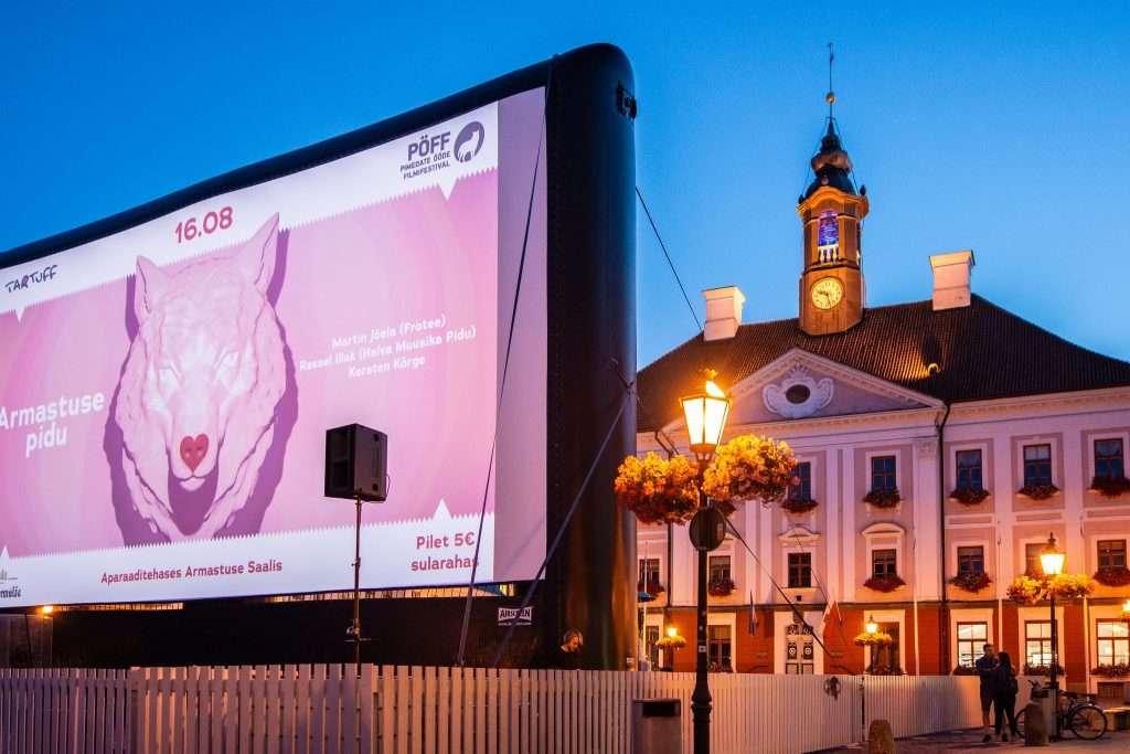 Кинофестиваль под открытым небом в Тарту: 17 фильмов о любви к просмотру
